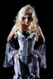 vampyrkvinna Royaltyfria Bilder