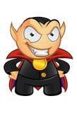 Vampyrmaskot - ont leende Royaltyfri Bild