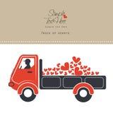 Van/хобот сердец Стоковое Изображение RF