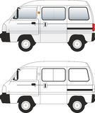 Van-2 car illustration vector Stock Photos
