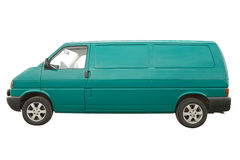 Van. Isolated on a white background Royalty Free Stock Images