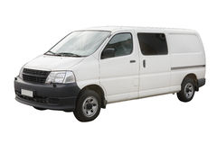 Van. Isolated on a white background Stock Photography