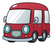 Van. Vector illustration of Van cartoon Stock Photo