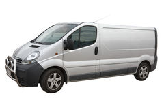 Van. Isolated on a white background Royalty Free Stock Photography