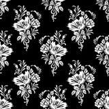 Van achtergrond bloemen patroon Stock Fotografie