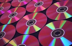 Van achtergrond CD reeks royalty-vrije stock afbeelding