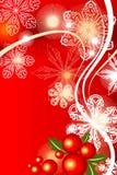 Van Achtergrond cristmas rood Royalty-vrije Stock Fotografie