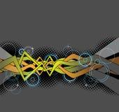 Van Achtergrond graffiti ontwerp Royalty-vrije Stock Foto