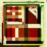 Van Achtergrond grunge ontwerp Royalty-vrije Stock Afbeeldingen