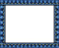 Van achtergrond jeans frame Royalty-vrije Stock Afbeeldingen