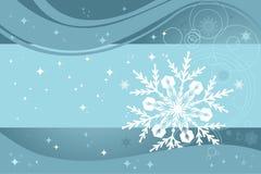 Van achtergrond Kerstmis blauw Royalty-vrije Illustratie