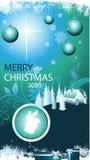 Van achtergrond Kerstmis vector Stock Afbeeldingen