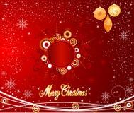Van achtergrond Kerstmis vector Royalty-vrije Stock Foto's