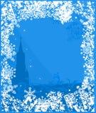 Van Achtergrond Rusland van de winter vector Stock Foto's