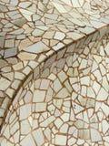 Van Achtergrond trencadis detail Royalty-vrije Stock Afbeelding