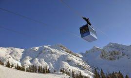 Van aerial tramway Royalty Free Stock Photography