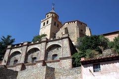 Van Albarracin (Teruel) Aragon Provincie - Spanje Stock Afbeeldingen