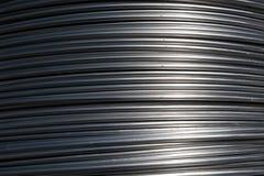 Van aluminiumdraad voor recycling Royalty-vrije Stock Fotografie