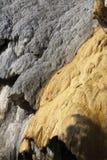 Van angst verstijfde Fontein van Réotier-structuur, Hautes-Alpes, Frankrijk stock afbeeldingen