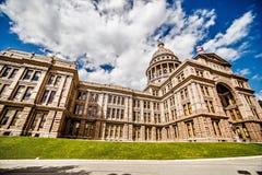 Van Austin Texas de stad en van de staat de capitolbouw Stock Afbeelding