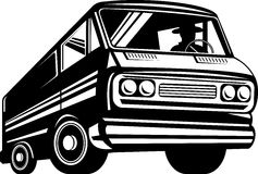 Van automobile car Stock Photo
