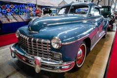 Van Bedrijfs Dodge van de ware grootteauto Luxecoupé D24, 1948 Royalty-vrije Stock Foto