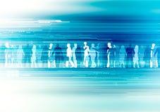 Van bedrijfs Internet concept Stock Foto