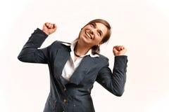 Van Bedrijfs sucessful vrouw. Stock Afbeelding