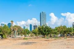 Van bedrijfs Tel Aviv District Stock Fotografie