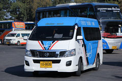 Van of Blue9 Company Stock Image