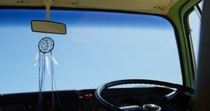 Van Breloczek obwieszenie w Samochodzie dostawczym 4k zdjęcie wideo
