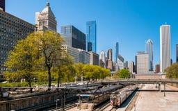 Van Buren Street Station, Chicago Royalty Free Stock Images