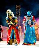 Van Buryat (Mongoolse) de kinderenmodellen Royalty-vrije Stock Foto's