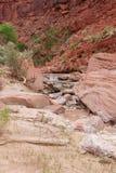 Van canion-Vermillion AZ-UT-Paria de Riviercanion Klippen wildernis-Paria Stock Fotografie