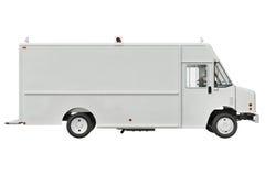 Van car, πλάγια όψη Στοκ φωτογραφία με δικαίωμα ελεύθερης χρήσης