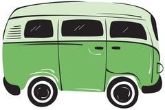 Van Car Royalty Free Stock Photo