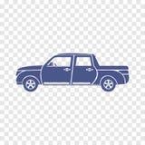 Van car pictogram Royalty-vrije Stock Afbeeldingen