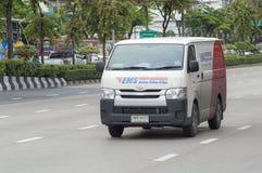 Van car postal Thaïlande Photos stock