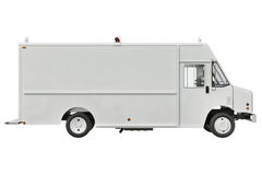 Van car, side view Royalty Free Stock Photography