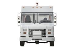 Van car, vue de face Image stock