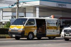 Van Cargo Car of Phiboonchai Maepranom Thai Chili Paste stock images