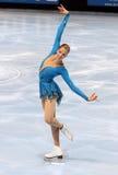 Van Carolina KOSTNER (ITA) het vrije schaatsen stock afbeeldingen