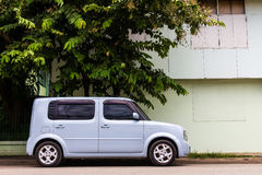 Van cars rectangular Stock Images