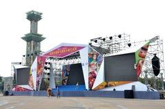 Van China (Nanchong) de 1st Internationale Marionet Art Week Stock Fotografie