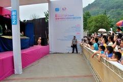 Van China (Nanchong) de 1st Internationale Marionet Art Week Stock Afbeeldingen