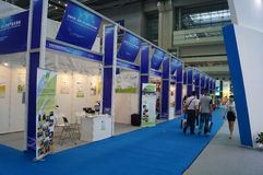 Van China (Shenzhen) Chinese de industriehandelsbeurs overzee stock foto's