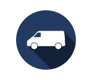 Van ciężarówki ikona Obraz Royalty Free