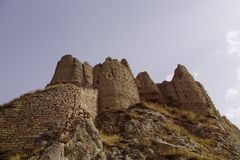 Van Citadel - il regno antico di Urartu immagini stock libere da diritti