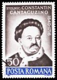 Van Constantin Cantacuzino (1640-1716) de kroniekschrijver, Culturele Verjaardagen serie, circa 1990 stock afbeeldingen