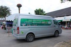 Van da associação cerâmica de Lampang Fotografia de Stock Royalty Free